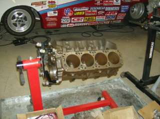 Ford SVO Drag Race Engine Small Block Unassembled, Heads, Intake, Cam