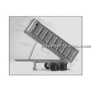 Alloy Forms HO Scale 22 Tandem Axle Dump Trailer Toys & Games