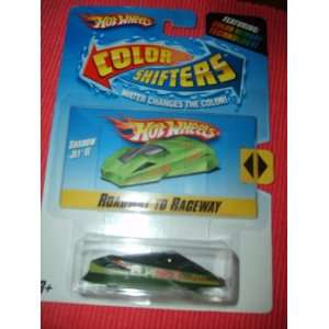 Wheels Color Shifters Roadway to Raceway Shadow Jet II Toys & Games