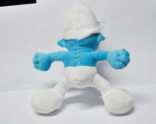 New Smurf 10 soft plush toy doll_L1