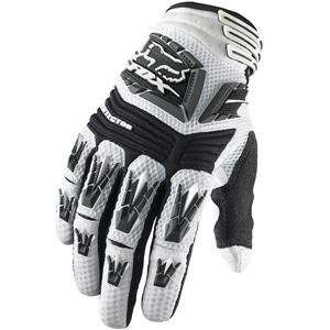 Fox Racing Pawtector Gloves   9/White Automotive