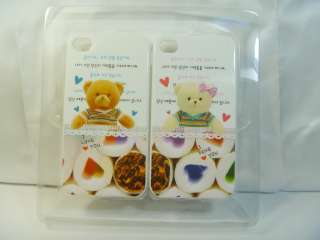 IPhone case cover skin Apple Iphone 4 and 4S for Lover 2 pcs Mother