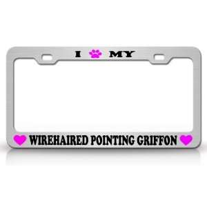 I PAW MY WIREEHAIRED POINTING GRIFFON Dog Pet Animal High