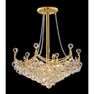 9801D24G Elegant Lighting Corona Collection lighting