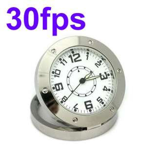 Spy Desk Clock Camera DVR Camcorder Motion Detection