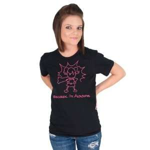 Awesome Girl Pink American Apparel T shirt