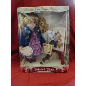 Bisque Porcelain Doll Toys & Games