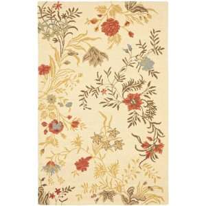Safavieh Blossom Collection BLM916A Handmade Beige and