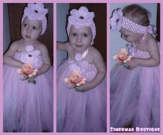 Baby/Toddler Girl Long Tutu Dress for birthday/wedding