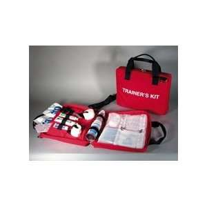 Standard Trainers First Aid Kit Red (case w/supplies