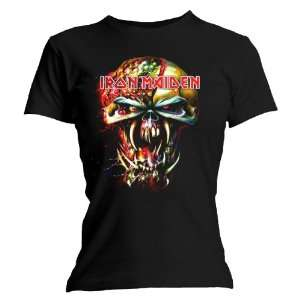 Loud Distribution   Iron Maiden T Shirt femme Eddie Big