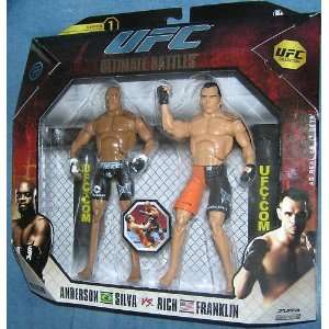 BATTLES ANDERSON SILVA AND RICH FRANKLIN [SERIES 1] Toys & Games