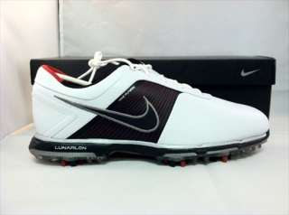 Nike Lunar Control Shoes White/Black Varsity Red 11.5 M