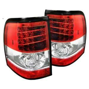 Redlines TL FEXP02 LED RC Red/Clear Medium LED Tail Light