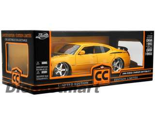 JADA DUB CITY 118 2006 DODGE CHARGER RT DAYTONA YELLOW