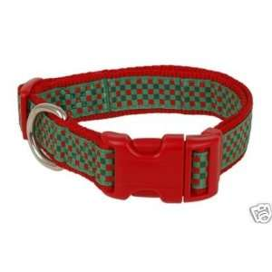 Douglas Paquette Nylon Dog Collar HOLIDAY 5/8x7 11