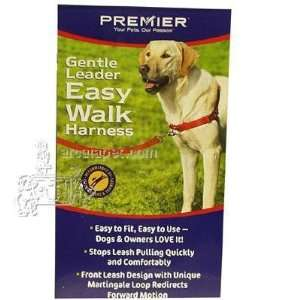 Gentle Leader Easy Walk Dog Harness Large Red