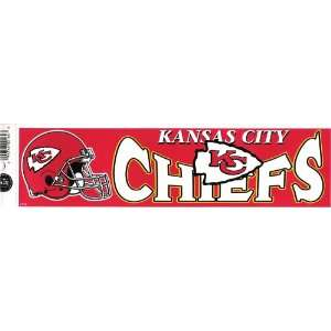 KANSAS CITY CHIEFS NFL decal bumper sticker Automotive