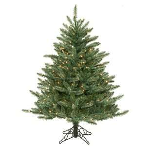 Pre Lit Blue Frasier Artificial Christmas Tree   Clear Lights