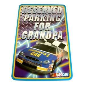 NASCAR Grandpa Parking Sign Case Pack 120