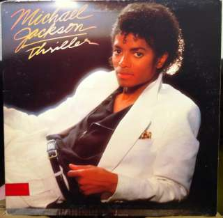 michael jackson thriller label epic records format 33 rpm 12 lp stereo