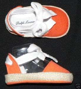 Polo Ralph Lauren baby crib shoes sandals boys girls
