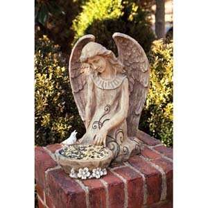 Peaceful Angel Bird Feeder Patio, Lawn & Garden