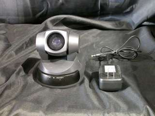 SONY EVI D100 PTZ PAN/TILT/ZOOM COLOR WEB CAM CAMERA WITH POWER SUPPLY
