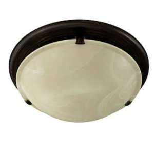 Ventilation Fan/Light in Oil Rubbed Bronze with Ivor