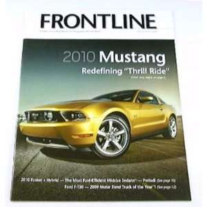 2010 10 FORD BROCHURE MAG Mustang Shelby Cobra GT500 GT