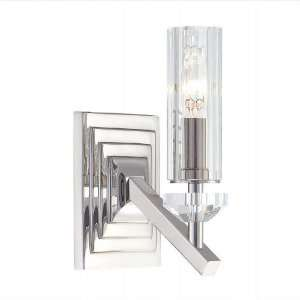 Fusano Polished Nickel Wall Sconce