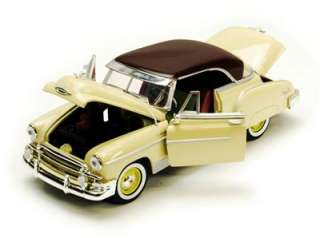 1950 Chevy Bel Air Hard Top   124 Scale Diecast Model   Yellow