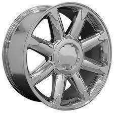 20 GMC Denali OE Wheels Chrome