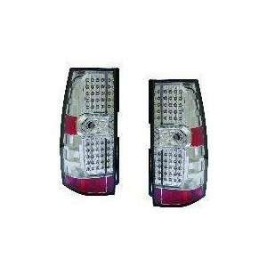 Chevy/GMC Replacement Tail Light Assembly (LED Chrome)   1