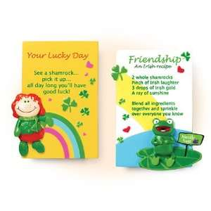 Set of Two Fun Irish Fridge Magnets