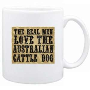 New  The Real Men Love The Australian Cattle Dog  Mug