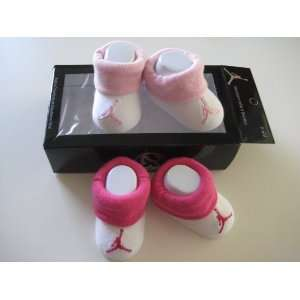 Nike Jordan Infant New Born Baby Booties 0 6 Months with