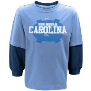 Nike North Carolina Tar Heels (UNC) Preschool Carolina Blue Navy Blue