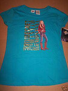 NEW* HANNAH MONTANA Girls T Shirt. Sz XL (16)