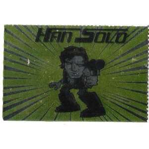 Star Wars JAKe Art Han Solo Character Card Everything