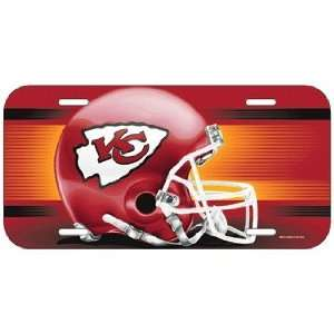 NFL Kansas City Chiefs License Plate