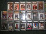 BGS + 1 AUTO + Lot MLB Great Lot Michael Jordan Lebron James Kobe