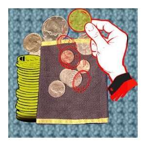Mesh Coin Bag   Money / Close Up / Parlor / Magic Toys & Games