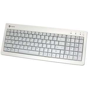 I Rocks Back lit LED Stylish White USB Keyboard
