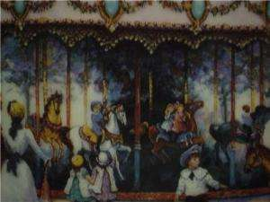 CAROUSEL MEMORIES BY SANDI LEBRON FRANKLIN MINT PLATE