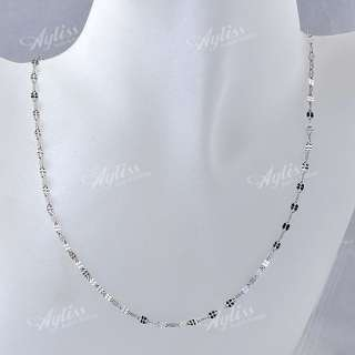 Stainless Steel Mouth Bead Link Chain Fashion Mens Necklace 18L