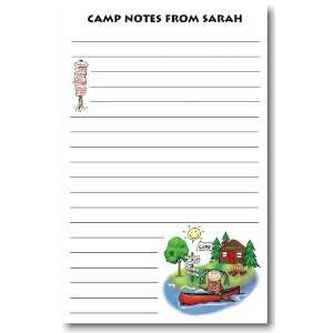 Pen At Hand Stick Figures   Large Full Color Pads (Canoe