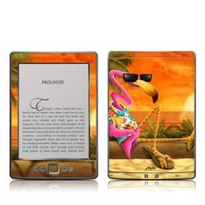 Sunset Flamingo Design Protective Decal Skin Sticker