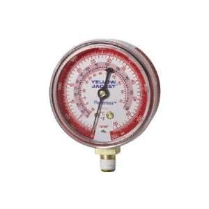 Yellow Jacket 49035 2 1/2 (68 mm) Manifold Gauges (°F), Red Pressure