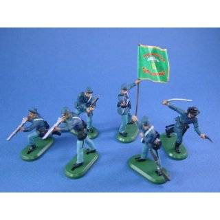 Britains Deetail Toy Soldiers American Civil War Union Irish Brigade